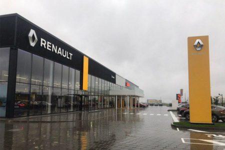 В Минске открылся огромный автоцентр Renault — Lada