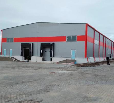 Строительство производственно-складского здания