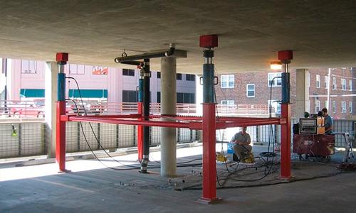Испытание бетонных конструкций