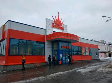 ТЦ Корона станция м.Пролетарская
