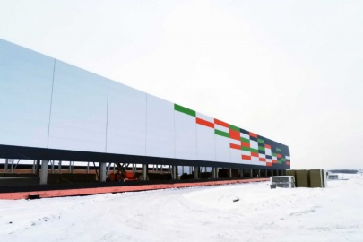 Строительство производственного комплекса