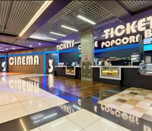Строительство кинотеатра в ТЦ